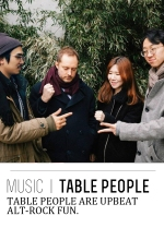 table people menu